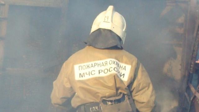 В Судиславском районе сгорел частный дом
