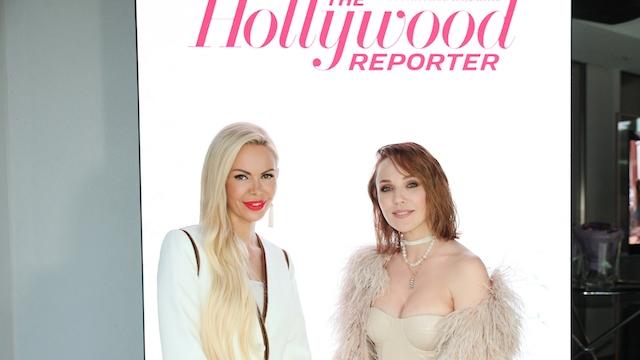Алиса Лобанова на вечеринке Hollywoodreporter