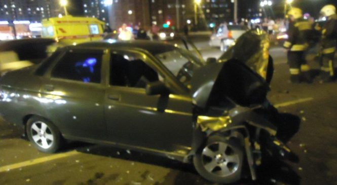 В Курске в ДТП пострадали несколько человек