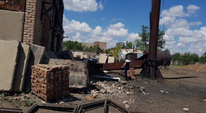 В Соль-Илецке 39-летний рабочий погиб при разборе котельной