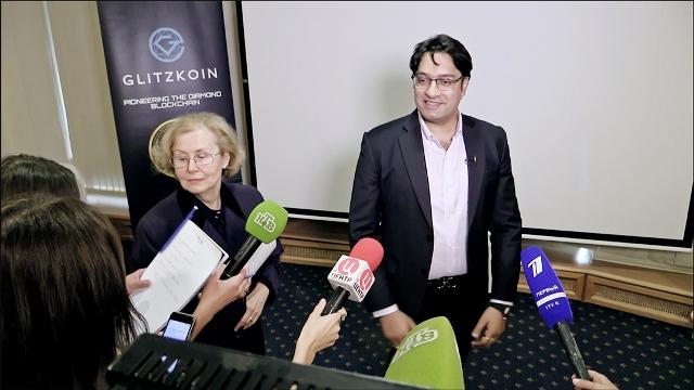 Инвесторам из РФ презентовали первый алмазный блокчейн-проект GLITZKOIN