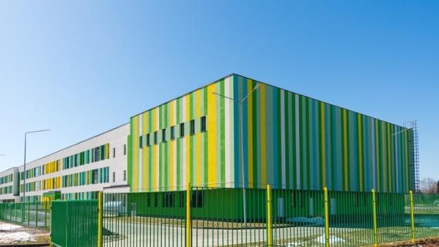 ГК «Инград»: школа на 880 мест сдана в ЖК Vesna в подмосковной Апрелевке